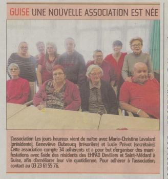 17-03-06 S10 Guise. Association des jours heureux......(L'Aisne Nlle.)