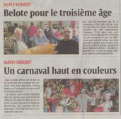 17-03-13 S11 Marly-Gommont. Belote et carnaval......(L'Aisne Nlle.)