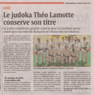 17-03-14 S11 Guise. Le judoka Théo Lamotte......(L'Aisne Nlle.)