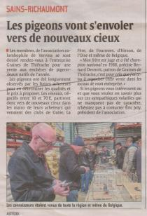 17-03-14 S11 Sains-Richt. Pigeons et Graines de Thiérache......(L'Aisne Nlle.)