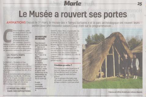 17-03-16 S11 Marle. Le Musée a rouvert ses portes......(La Thiérache).