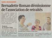 17-03-18 S11 Sains-Richt. Bernadette Roman démissionne......(L'Aisne Nlle.)