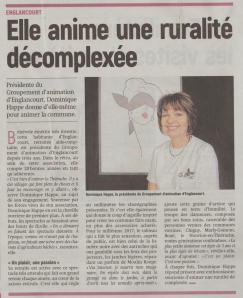 17-08-01 S31 Englancourt. Groupement d'animation....(L'Aisne Nlle.)