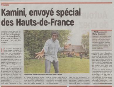 17-08-01 S31 Kamini sur France 3....(L'Aisne Nlle.)
