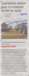 17-08-03 S31 Agriculture. Une bonne moisson....(La Thiérache)