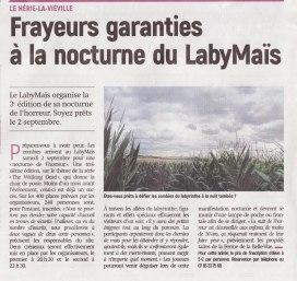 17-08-14 S33 Le Hérie-la-Viéville. Nocturne du LabyMaïs....(L'Aisne Nlle.)
