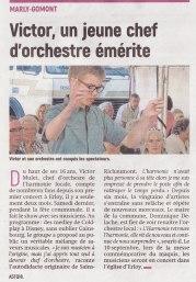 17-08-14 S33 Marly-Gomont. Un jeune chef d'orchestre....(L'Aisne Nlle.)