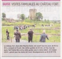 17-08-15 S33 Visites au Château fort de Guise....(L'Aisne Nlle.)