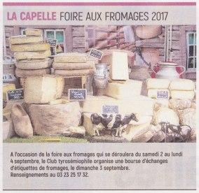 17-08-21 S34 La Capelle. Foire aux fromages 2017....(L'Aisne Nlle.)