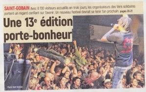 17-08-21 S34 Saint-Gobain. 13e édition porte-bonheur....(L'Aisne Nlle.)