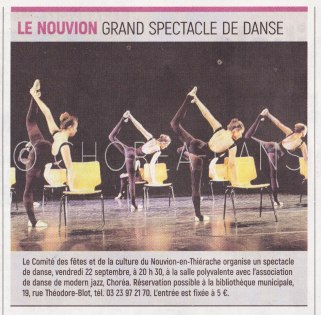17-09-12 S37 Le Nouvion. Grand spectacle de danse....(L'Aisne Nlle.)