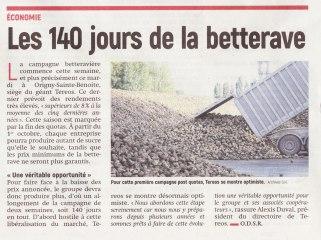17-09-12 S37 Les 140 jours de betterave....(L'Aisne Nlle.)
