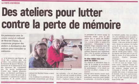 17-09-19 S38 La Ferté-Chevresis. Lutter contre la perte de mémoire....(L'Aisne Nlle.)