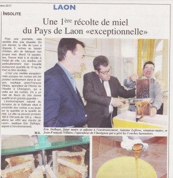 17-09-21 S38 Laon. 1ère récolte de miel....(L'Axonais)