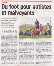17-09-23 S38 Du foot pour autistes et malvoyants....(L'Aisne Nlle.)