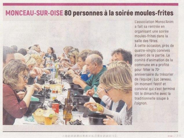17-09-23 S38 Monceau-sur-Oise. Soirée moules-frites....(L'Aisne Nlle.)