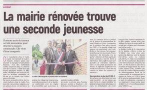 17-09-26 S39 Audigny. Mairie rénovée....(L'Aisne Nlle.)