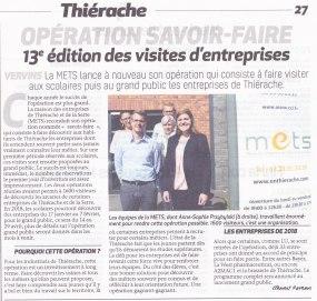 17-09-28 S39 Vervins. Visites d'entreprises avec la METS....(La Thiérache)