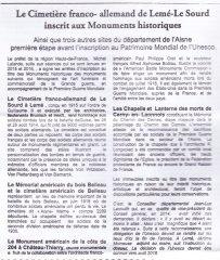17-10-10 S41 Cimetière de Lemé-Le Sourd....(Le Démocrate du 06-10)