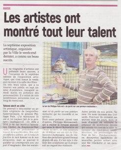 17-10-19 S42 Guise. Exposition artistique....(L'Aisne Nlle.)