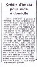 17-10-20 S42 Crédit d'impôt....(Le Démocrate)