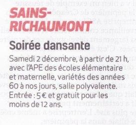 17-11-23 S47 Sains-Richt. Soirée dansante....(La Thiérache)