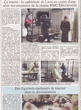 17-11-23 S47 Télévision à la cathédrale de Laon.....(L'Axonais)