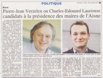 17-11-27 S48 Candidats à la présidence des maires....(L'Axonais du 30)