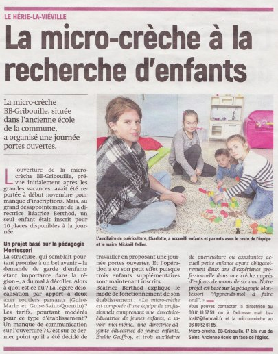 17-11-30 S48 Le Hérie-La-Viéville. La micro-crèche ....(L'Aisne Nlle.)