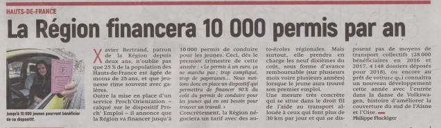 18-01-21 S 04 La région finançera 10 000 permis par an.....(L'Aisne Nlle)