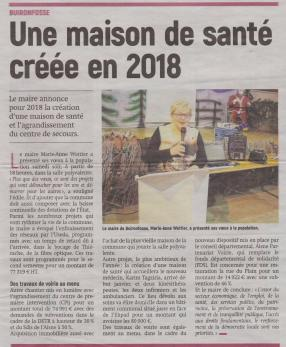 18-01-22 S 04 Buironfosse.Maison de santé.....(L'Aisne Nlle)
