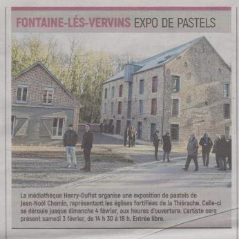 18-01-22 S 04 Fontaine-les-Vervins. Expo.de pastels.....(L'Aisne Nlle du 25)