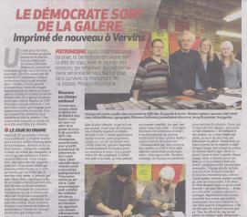 18-01-25 S 04 Vervins. Le Démocrate.....(La Thiérache )