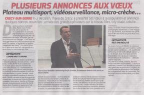 18-01-28 S 05 Crécy-sur-Serre. Voeux du maire.....(La Thiérache du 01-02)