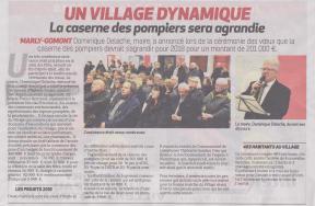 18-01-28 S 05 Marly-Gomont. Voeux du maire.....(La Thiérache du 01-02)