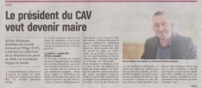 18-01-29 S 05 Lemé. Le président du CAV veut devenir maire.....(L'Aisne Nlle)