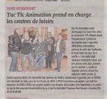 18-02-01 S 05 Ss-Richt. Tac Tic Animation et les centres de loisirs.....(L'Aisne Nlle)