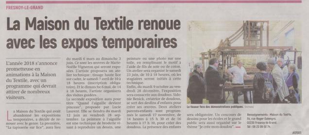 18-02-15 S 07 Fresnoy-le-Grand. Maison du Textile.....(L'Aisne Nlle)