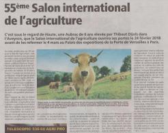 18-02-16 S 07 Salon de l'agriculture....(L'Agriculteur)