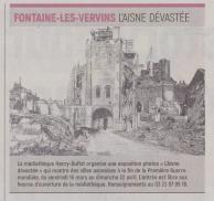 18-03-05 S 10 Fontaine-les-Vervins. L'Aisne dévastée.....(L'Aisne Nlle)