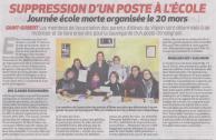 18-03-05 S 10 Saint-Gobert. Ecole morte le 20 mars....(La Thiérache du 08)