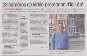 18-03-08 S 10 Crécy-sur-Serre. 13 caméras de vidéo-protection....(La Thiérache)
