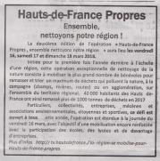 18-03-09 S 10 Hauts-de-France propres.....(Le Démocrate)