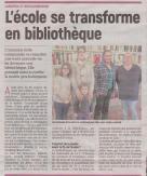 18-03-10 S 10 Landifay. L'école se transforme en bibliothèque.....(L'Aisne Nlle)