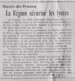 18-03-16 S 11 La Région sécurise les lycées.....(Le Démocrate)