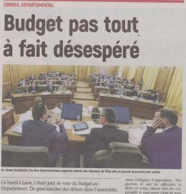 18-03-20 S 12 Budget Conseil Départemental.....(L'Aisne Nlle)