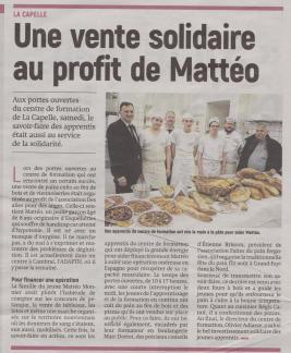 18-03-22 S 12 La Capelle. Au profit de Mattéo.....(L'Aisne Nlle)