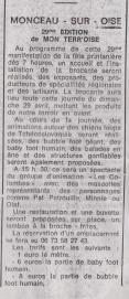 18-03-23 S 12 Monçeau-sur-Oise. 29ème Mon Terr'oise.....(Le Démocrate)