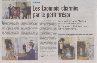 18-05-29 S 22 Laon. Le Nain était à la mairie.....(L'Union )