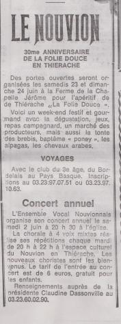 18-06-01 S 22 Le Nouvion.....(Le Démocrate du 25-05)